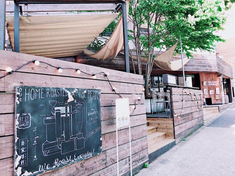デッキテラスで旅行気分。原宿のおしゃれカフェTHE DECK COFFEE & PIE(ザデックコーヒーアンドパイ)[WiFiあり]
