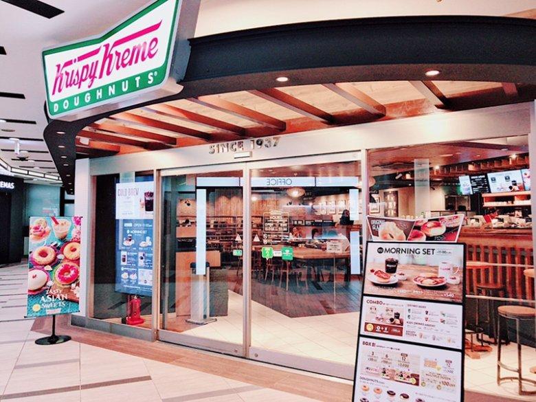 モーニング作業♪ドーナツ食べながらゆったりできるクリスピークリームドーナツ渋谷シネタワー店[電源WiFiあり]